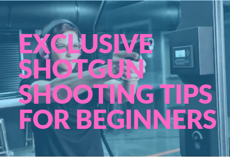 Exclusive Shotgun Shooting Tips for Beginners